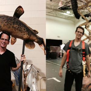 Fish Fabrication/Rigging Installation