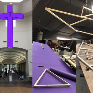 Paper Cross Design and Fabrication